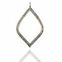 Pave Diamond Charm