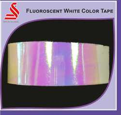 Fluorescent White Color Exotic Tapes