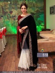 Bollywood Stylish Party Wear Saree