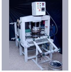 Full Automatic Paper Thali Plate Making Machine