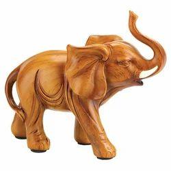 Wooden Elephant Statues