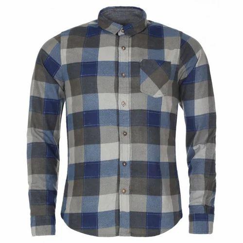 abf0194b318 Mens Shirt - Mens Check Shirt Manufacturer from Ahmedabad
