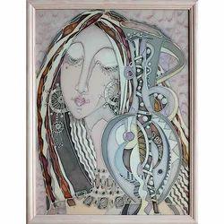 Silk Painting 9x12