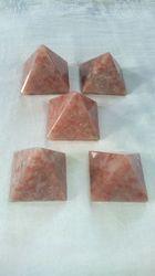 Natural Sun Stone ( Suryakant Mani) Pyramid