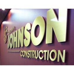 Metal 3D Letters Sign Board