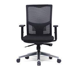 Net Back Black Chair