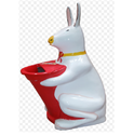 Pig Shaped Dustbin