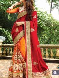 Fancy Party Wear Designer Replica Saree