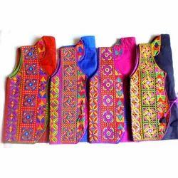 Cotton Embroidered Koti
