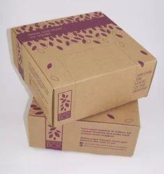 Brown Printed Carton Box