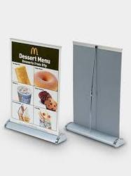A4 Roll Up Standee