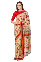 Polly Cotton Saree