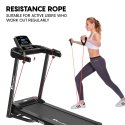 Powermax Usa Tdm-99 Multi-Function Treadmill With Twister And Resistance Ropes