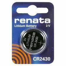 RENATA CR 2430 Batteries