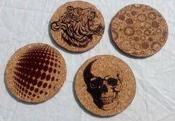 Printed Cork Coaster
