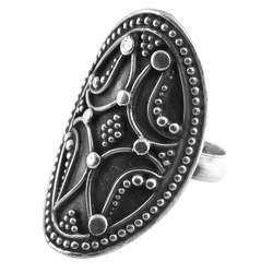 Supernatural Design 925 Sterling Silver Ring