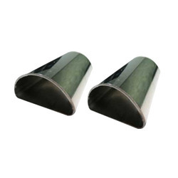 Stainless Steel Half Round Pipes (D-Pipes)