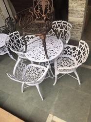 Designer Aluminum Chair