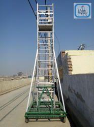 Aluminium Tiltable Tower Extension Ladder
