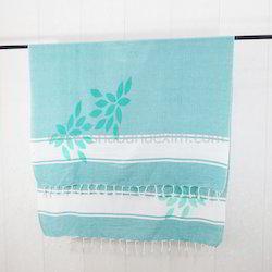 Printed Beach Towel Classical Fouta Pareo Turkish Peshtemal