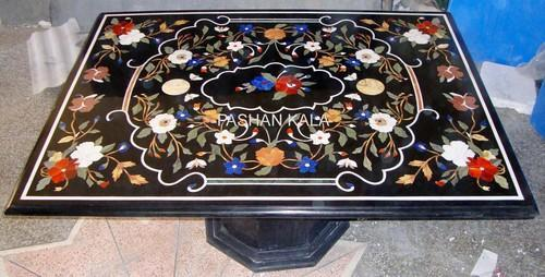 Inlay Table Tops, Marble Inlay Table Tops, Marble Table Tops, Stone Inlay  Table Tops, India