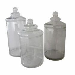 Air Tight Glass Jar