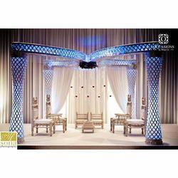 Royal wedding sofa and royal wedding mandap manufacturer pal tent indian wedding mandap junglespirit Image collections