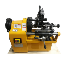 light weight pipe threading machine
