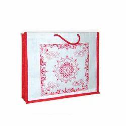 Juteberry Printed Jute Bag