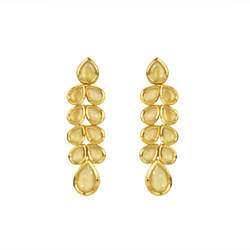 Gold Plated Kundan Classic Earring - 40601