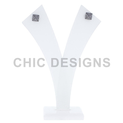 Diamond Square Studs Earrings