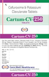 Cefuroxime And Potassium Clavulanate Tablets