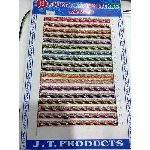 Manufacturer Of Polyester Laces & Zari Lace By Jitendra