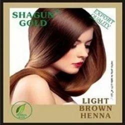 Light Brown Hair Dye Powder