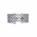 Diamond Flower Designs Bracelet