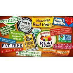 Food Product Labels