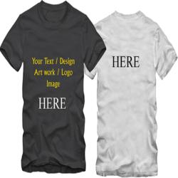 Men Custom T Shirt
