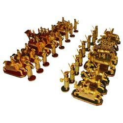Bone Ambabari Chess Set