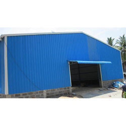Stainless Steel Roofing Shed