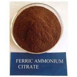Ferric Ammounium Citrate