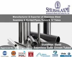 Stainless Steel Seamless Cold Drawn Tubes