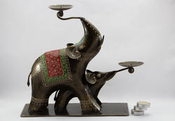 Elephant T- Light Holder