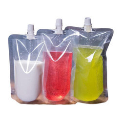 Liquid Spout Pouches