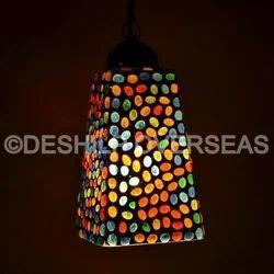 Mosaic Hanging Light