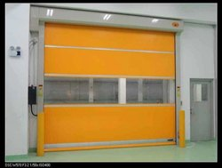 Clean Room Rolling Door