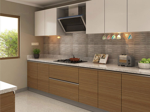 Modular Kitchen Veneer Modular Kitchens Manufacturer From Mohali