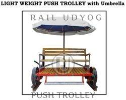 Railway Push Trolley