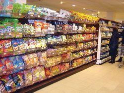 Departmental Store Shelving Rack
