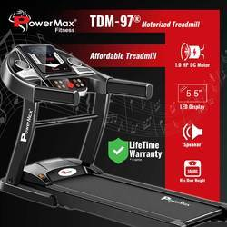 Powermax TDM-97 Motorised Treadmill