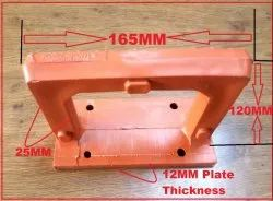 Plastic Clamp Type Footrest